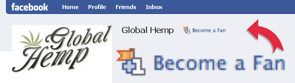 Become a Fan of Global Hemp on Facebook